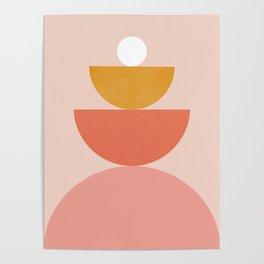 Abstraction_Circles_Balance_Modern_Minimalism 008 Poster