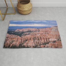 Sunset over Hoodoos | Nature Landscape Photography in Bryce Canyon National Park Utah Rug