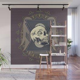 Vintage skull Wall Mural