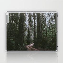Redwoods Road Laptop & iPad Skin