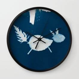 Cyano-fox Wall Clock