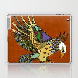 jewel eagle rust Laptop & iPad Skin