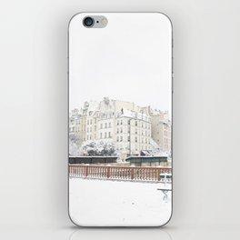 Snowflake in Pars iPhone Skin