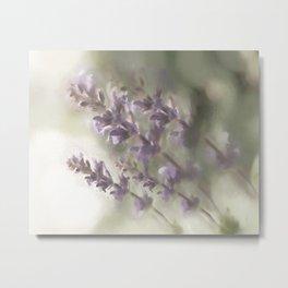 Warm/Hazy Lavender Metal Print
