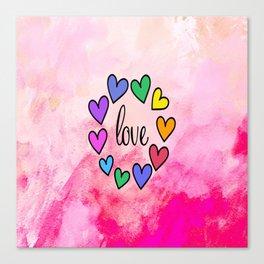 Love 118 Canvas Print