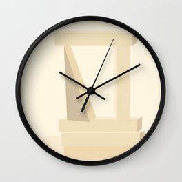 Shape study #13 - Stackable Collection Wall Clock