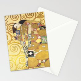 Gustav Klimt - Tree of Life (detail) 1909 Stationery Cards