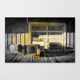 Bright Side Of Abandonment Canvas Print