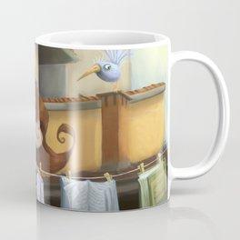 """hanging books"" Coffee Mug"