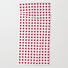 Abstract from the flag of japan – japanese,red,sun,asia,nippon,tokyo,edo,osaka,nagoya,ikebana,noh. Beach Towel