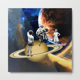 Jumpin Jive Metal Print