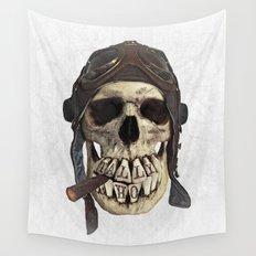 TALLY HO  (skull series 2 of 3) Wall Tapestry