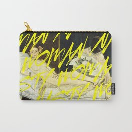 Nasty Woman, Manet's Olympia Carry-All Pouch