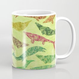 Extinct Marine Lizard II (Plotosaurus, Globidens, Platecarpus, Tylosaurus) Coffee Mug