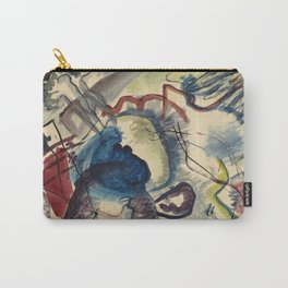 Wassily Kandinsky -  Painting With White Border Carry-All Pouch