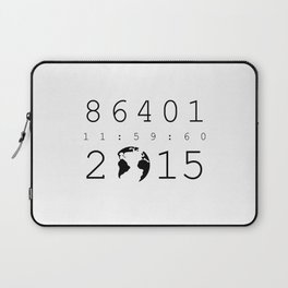 86401 Leap Second 2015 Laptop Sleeve