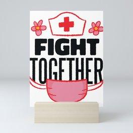 Fight Together Mini Art Print