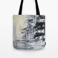 singapore Tote Bags featuring Singapore II by Kasia Pawlak