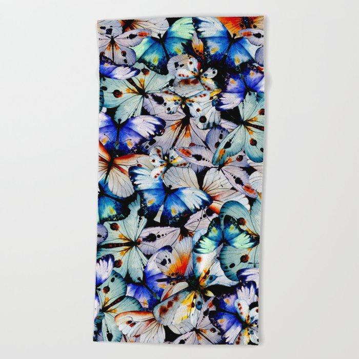All of the Butterflies Beach Towel