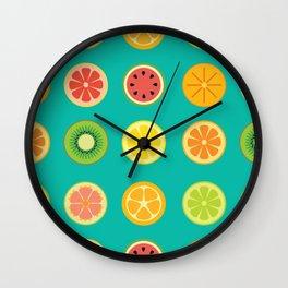 SLICE - grid Wall Clock