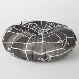 Redback Spider Floor Pillow
