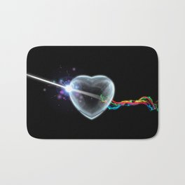 The Dark Side of the Heart Bath Mat