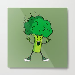 Broccoli rocks! Metal Print