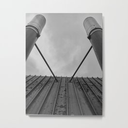 Twin Chimneys Metal Print