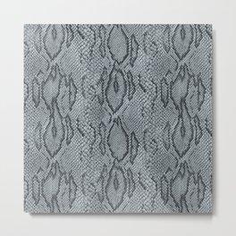 BOA SKIN (PLATINUM) Metal Print