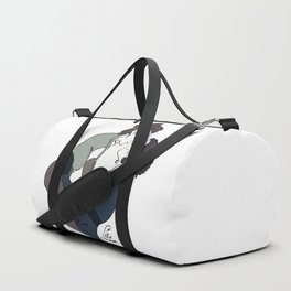 Light and Darkness Duffle Bag