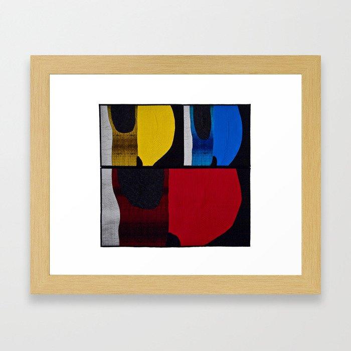 Color x 3 Framed Art Print
