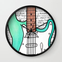 Music for the Soul & Spirit - Green Series Wall Clock