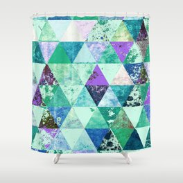 Abstract #837 Shower Curtain