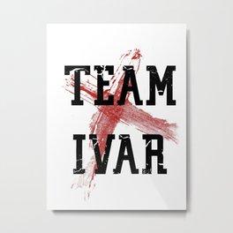 Team Ivar Metal Print