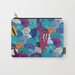 Deep Ocean Carry-All Pouch