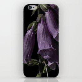 Digitalis purpurea iPhone Skin