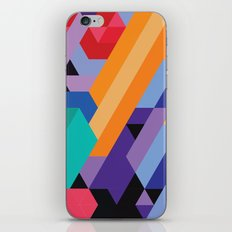 Flat Geometry 01 iPhone & iPod Skin