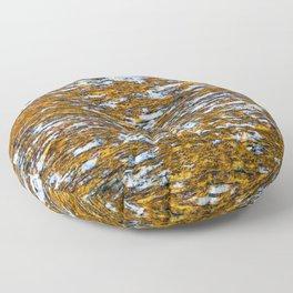 Moss on wood Textures 12 Floor Pillow