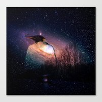 penguin Canvas Prints featuring penguin by  Agostino Lo Coco
