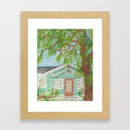 503 B Street Framed Art Print