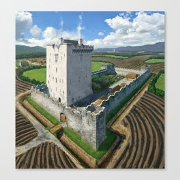 Medieval Tower House Canvas Print