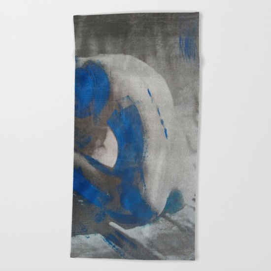 Woman 2 Beach Towel