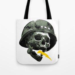 General's Skull Tote Bag
