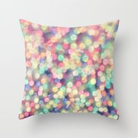 tiffany Throw Pillows featuring TIFFANY  by Monika Strigel