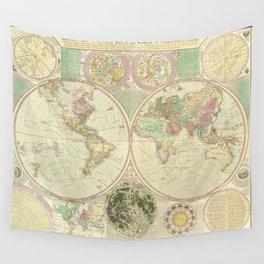 World Map by Carington Bowles (circa 1780) Wall Tapestry