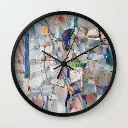 Equitable Fragments Wall Clock