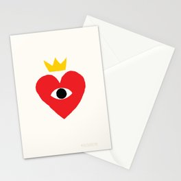 King of my heart Stationery Cards