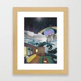 Infinite room Framed Art Print