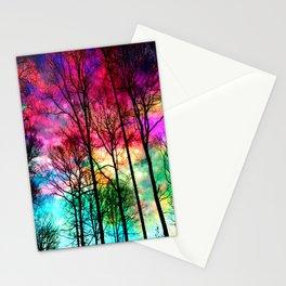 Colorful sky Stationery Cards