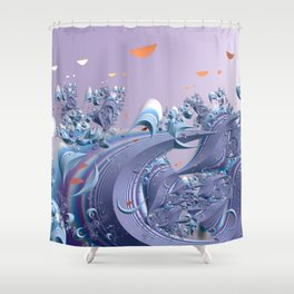 A breeze of spring Shower Curtain